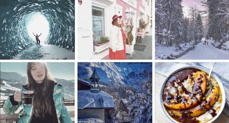 Collage comptes instagram de Haute-Savoie